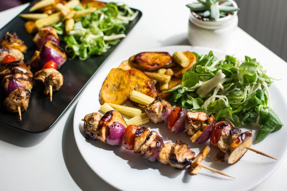 Healthy kebab
